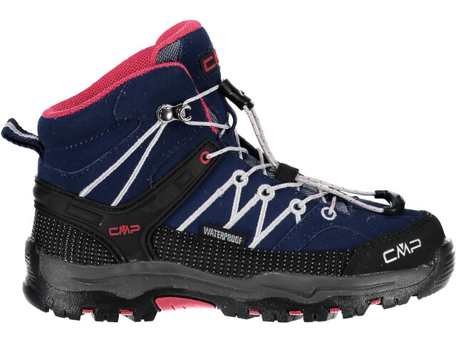 CMP Campagnolo Rigel Mid WP Chaussures Enfant, marine-corallo